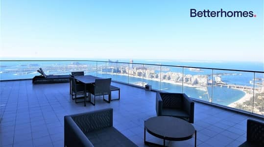 4 Bedroom Penthouse for Sale in Dubai Marina, Dubai - Stunning Penthouse | Full Sea View | Fendi