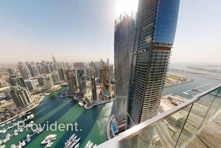 شقة 3 غرف نوم للايجار في دبي مارينا، دبي - Luxury Corner Unit
