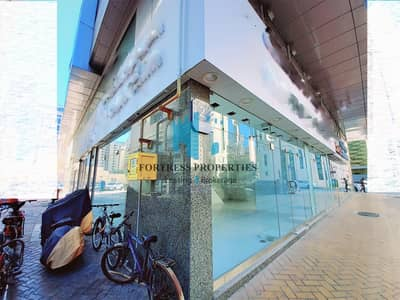Shop for Rent in Sheikh Khalifa Bin Zayed Street, Abu Dhabi - Supreme Location I Corner SHOP with High Visible I GF + MEZZ I 1076 SQ FT