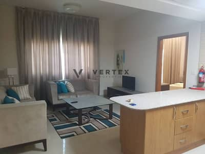 Best Price Vacant 1 BHK Full Furnished + Balcony Suburbia 2