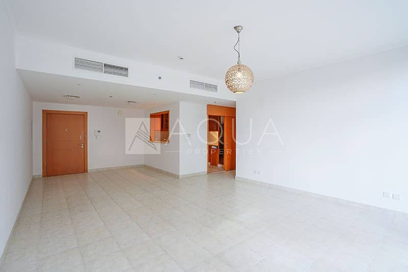 Well Maintained | Large Terrace | Unfurnished
