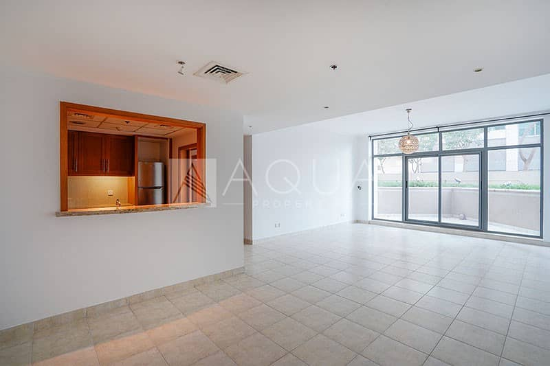 2 Well Maintained | Large Terrace | Unfurnished