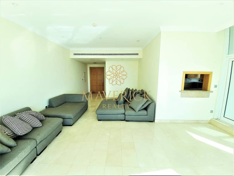 2 Semi-Furnished 2BR | Chiller Free | Huge Balcony