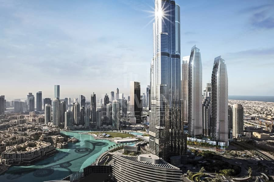 10 Full Burj and Fountain views | Furnished