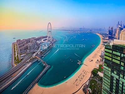 1 Bedroom Apartment for Sale in Jumeirah Beach Residence (JBR), Dubai - Luxury 1 BR | High End unit | With Beach Access