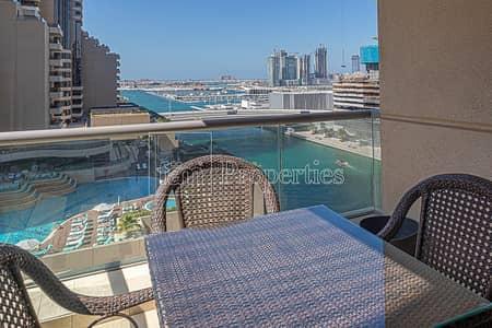 شقة 2 غرفة نوم للايجار في دبي مارينا، دبي - 2BR Apartment w/ Stunning Palm and Marina View