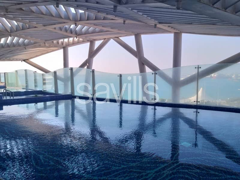 14 Spacious 2+M Bedroom With The Sea View in Corniche