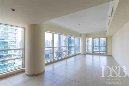 3 Bedroom Apartment for Rent in Dubai Marina, Dubai - Full Marina View | Mid Floor | Chiller Free