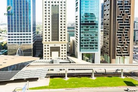فلیٹ 2 غرفة نوم للايجار في شارع الشيخ زايد، دبي - Chiller Free | Office Convertible to 2BR | Vacant
