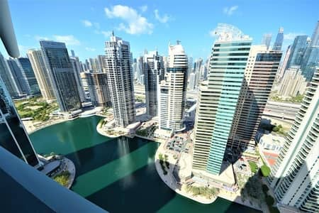 4 Bedroom Flat for Sale in Jumeirah Lake Towers (JLT), Dubai - 4 BR + Maids | Vacant  | Lake View | Big Apartment