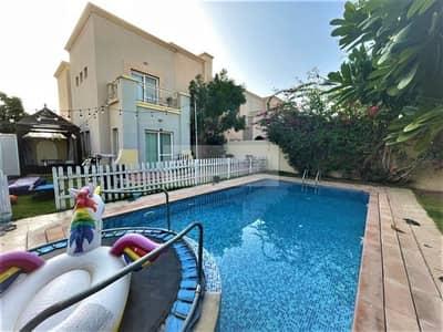 فیلا 3 غرف نوم للبيع في الينابيع، دبي - Vacant on April| 3Bedroom Park View | Next to Mall