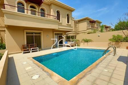 4 Bedroom Villa for Rent in Al Raha Golf Gardens, Abu Dhabi - Fantastic 4 BR Villa with Pool in Great Community
