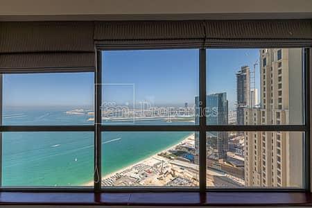 فلیٹ 4 غرف نوم للبيع في جميرا بيتش ريزيدنس، دبي - Beautiful Views Best Layout 4BR+M /High Floor