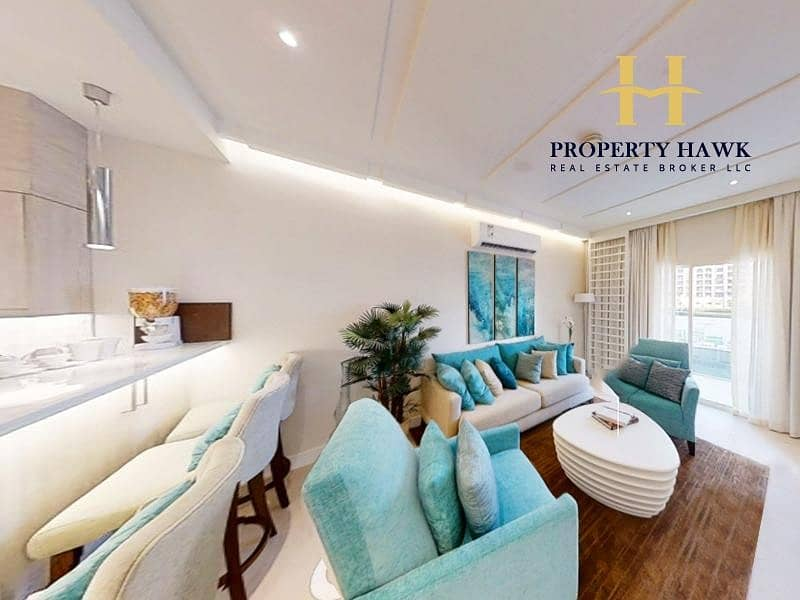 Brand New 1 Bedroom | Sea and Garden View | Resale