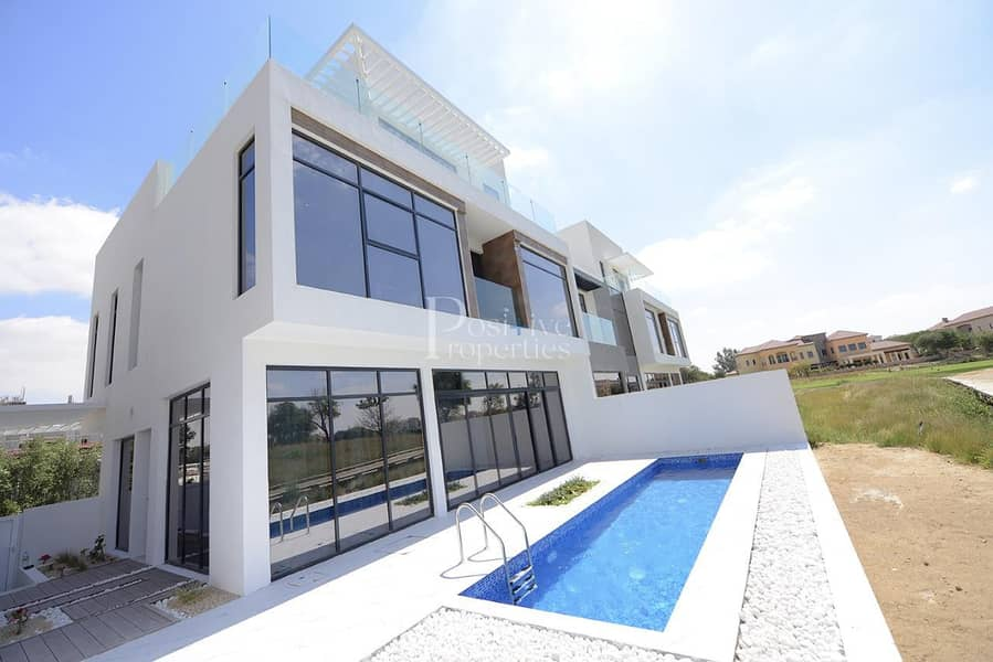 Jumeirah Luxury | Middle Plaza View | 3BR+M