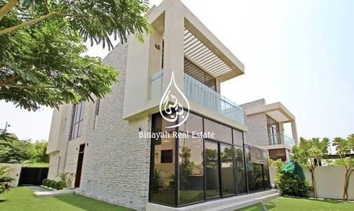 فیلا 5 غرف نوم للايجار في داماك هيلز (أكويا من داماك)، دبي - Furnished Paramount | 5BR + M| Single Row |