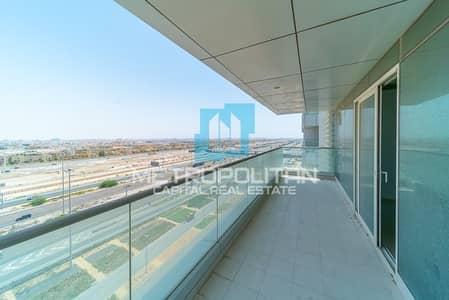 فلیٹ 2 غرفة نوم للايجار في شاطئ الراحة، أبوظبي - Hot Deal  0% Commission  Big Balcony  Ample Layout