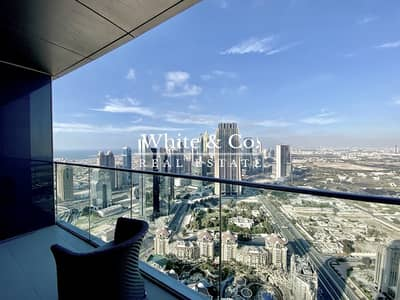 4 Bedroom Penthouse for Rent in Downtown Dubai, Dubai - Luxury Furnished | Burj View | View Anytime