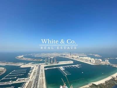 4 Bedroom Penthouse for Sale in Dubai Marina, Dubai - Luxury Penthouse - Full Sunset and Palm Views
