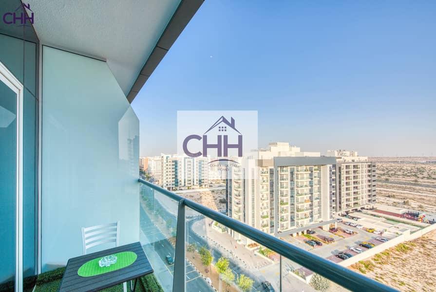 15 Cozy Studio apartment in the Iconic Tower in Dubai Silicon