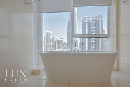 2 Bedroom Flat for Rent in Jumeirah Lake Towers (JLT), Dubai - Stunning High Rise - Maids Room - Bright