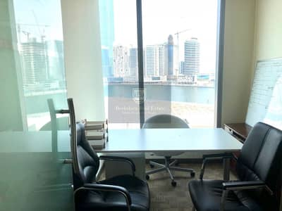 Office for Rent in Business Bay, Dubai - Fully Fitted Office| With Lake View| 2 Car Parking