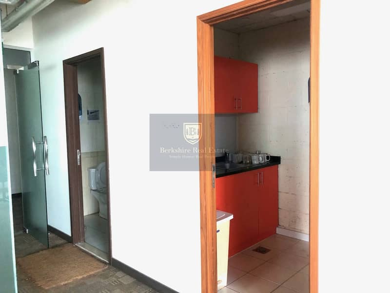14 Fully Fitted Office| With Lake View| 2 Car Parking
