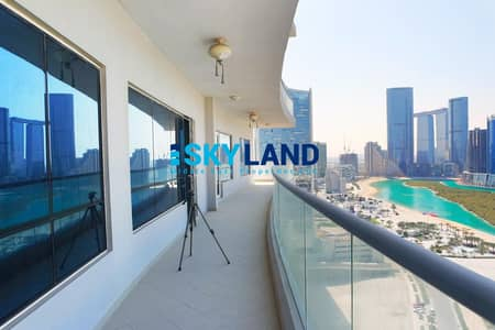 3 Bedroom Apartment for Rent in Al Reem Island, Abu Dhabi - Hot Offer ! 3BR+Maids with Sea View and Big Balcony