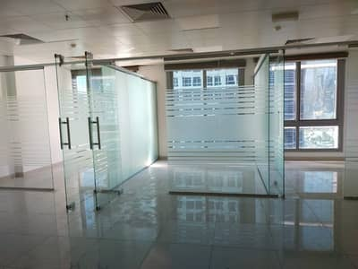 Office for Rent in Business Bay, Dubai - Nice and Partition Office for rent in Business Bay Direct from the Owner