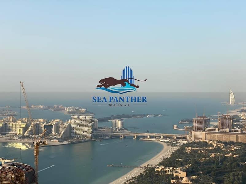 Stunning Sea View | 3 BR w/ Maid's Room | Dubai Marina