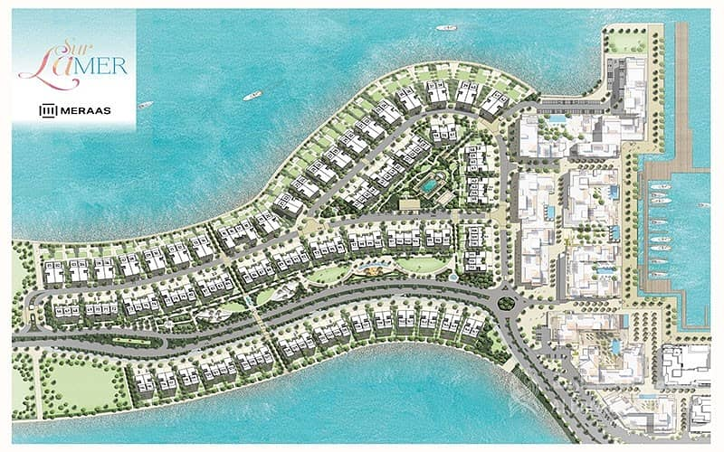 2 Sea Front Villa Plot for sale with Payment Plan