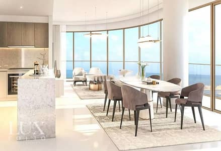 3 Bedroom Flat for Sale in Dubai Harbour, Dubai - Full Palm View - Elie Saab - Genuine Resale