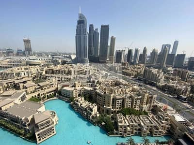 3 Bedroom Apartment for Sale in Downtown Dubai, Dubai - Burj and Fountain View from your Window |Upgraded