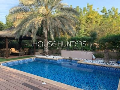 3 Bedroom Villa for Sale in Arabian Ranches, Dubai - Exclusive Saheel| Upgraded| Private pool|Park view