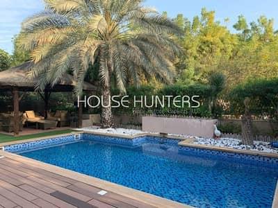 فیلا 3 غرف نوم للبيع في المرابع العربية، دبي - Exclusive Saheel| Upgraded| Private pool|Park view