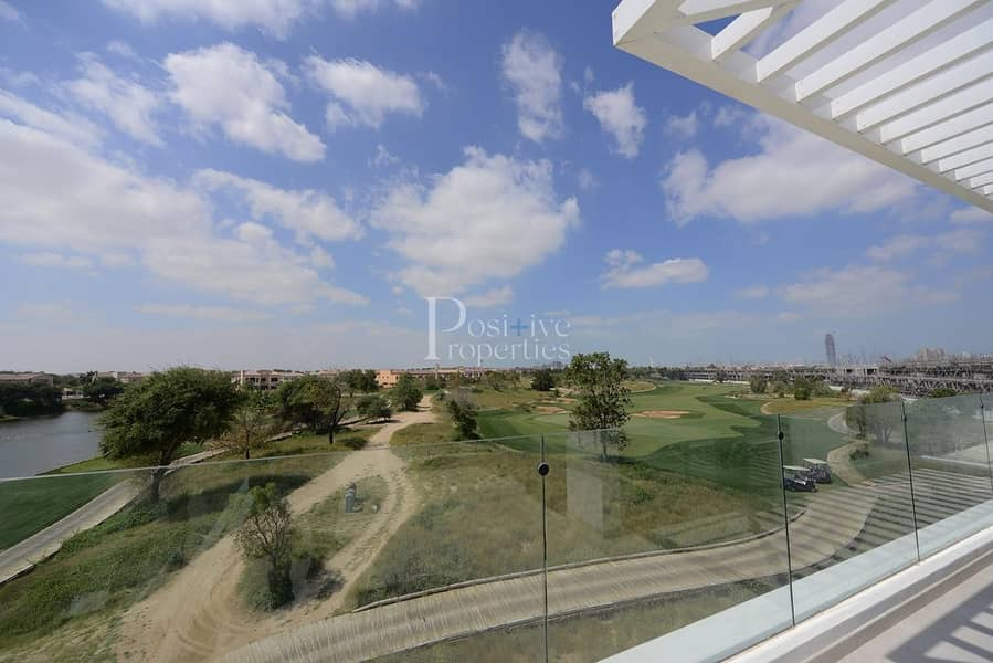 Stunning 4BR+M with  Golf T View