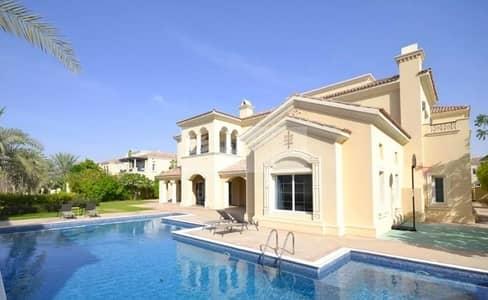 فیلا 6 غرف نوم للايجار في المرابع العربية، دبي - Large Plot | Furnished |Full Polo View| Type A 6BR