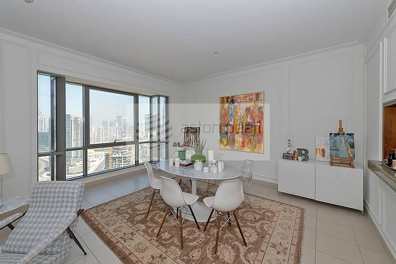 2 High Floor|2Bedroom with Balcony|Burj Khalifa View