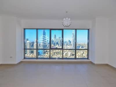 فلیٹ 3 غرف نوم للبيع في وسط مدينة دبي، دبي - Exclusive 3BR+M | Burj and Fountain Views | Vacant