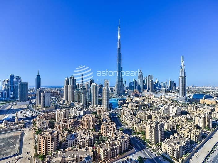 10 Exclusive 3BR+M | Burj and Fountain Views | Vacant