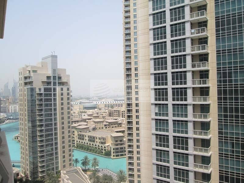 2 Upgated |Spacious 1BR Unit |Partial Fountain Views