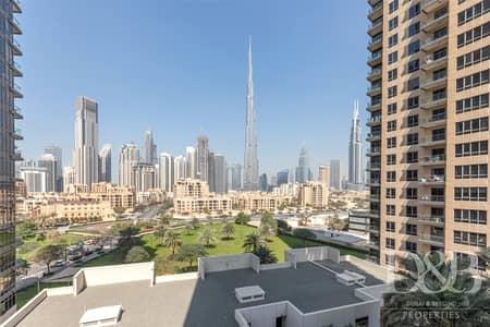 3 Bedroom Flat for Rent in Downtown Dubai, Dubai - Chiller Free | Burj Khalifa View | Vacant