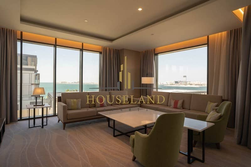 Luxury Furnished 4 Br + M | Bills Included | Sea View