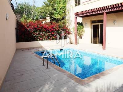 فیلا 5 غرف نوم للبيع في حدائق الجولف في الراحة، أبوظبي - Vacant - Stunningly design family 5BR villa w/ pool