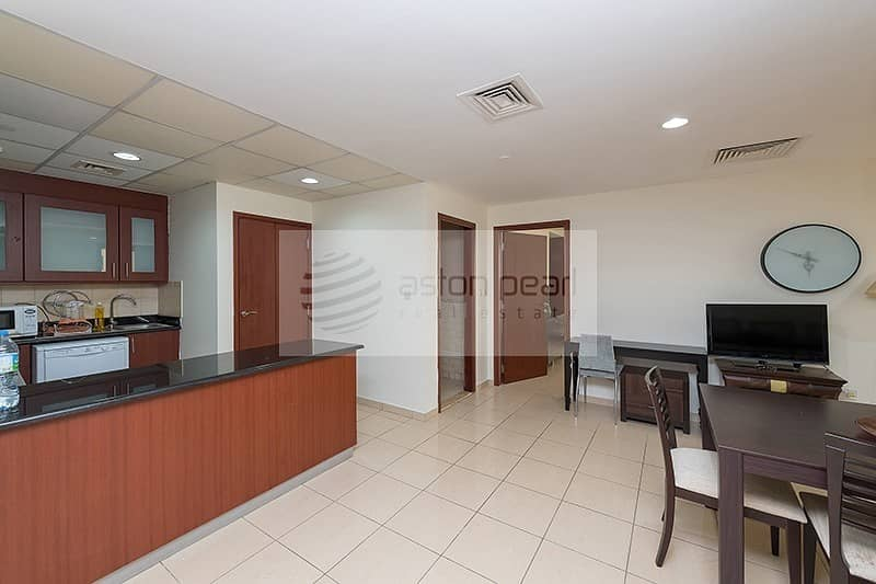 2 Sea View | Furnished 1B | Multiple Cheques Payment
