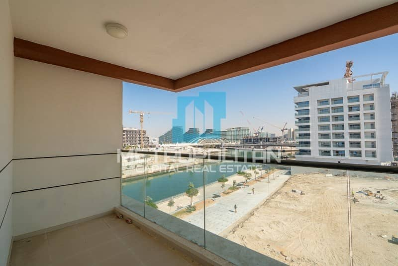 2 Brand New| Canal View | Big Balcony| Spacious Layout