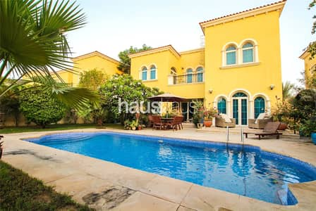 3 Bedroom Villa for Sale in Jumeirah Park, Dubai - Private Pool | New District 5 Listing | Large Plot