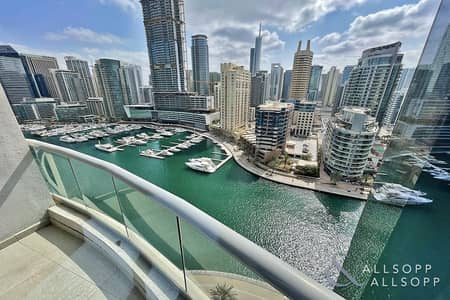 3 Bedroom Flat for Sale in Dubai Marina, Dubai - Full Marina View | Vacant | 3 Bed + Maids