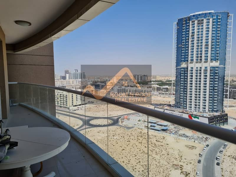 Spacious 2 Bed + Store+Maids  apartment In siraj Tower , Arjan, Is available For Rent