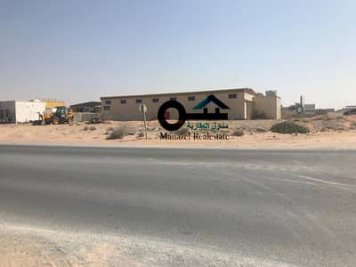 Industrial Land for Sale in Umm Al Quwain Marina, Umm Al Quwain - For sale industrial land in Bam Al-Quwain on the main street, a very excellent location.